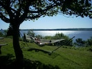 This is the front view from our cottage.  Could you relax here?