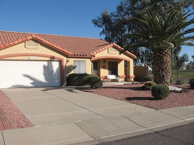 The home is located next to a public golf course in a quiet, safe neighborhood.  Plenty of off street parking.