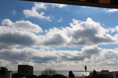 vue mer côté sud (balcon)