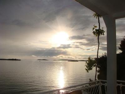 Balcony late sun