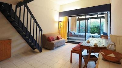 Séjour chambre et terrasse
