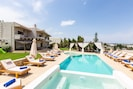 Lay by the pool and enjoy the sun all day long!