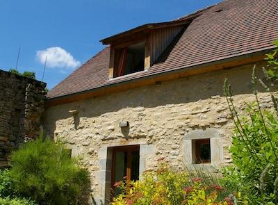 Marcilhac-sur-Cele Abbey, Marcilhac-sur-Cele, Lot, France