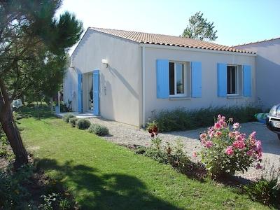 accès villa