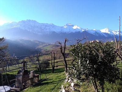 Prato Selva Freeride Paradise, Fano Adriano, Abruzzo, Italy