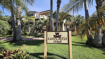Beautiful Sandcastle, set in well tended gardens