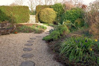 Rushcroft Lodge private garden