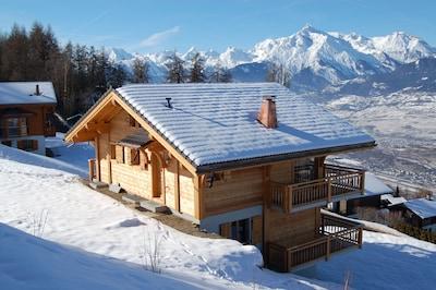 Thyon TVT, Nendaz, Wallis, Schweiz