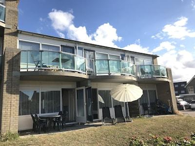 Beach App 15 mit doppelter Terrasse.