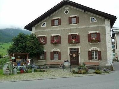 Tinzen, Surses, Graubünden, Zwitserland
