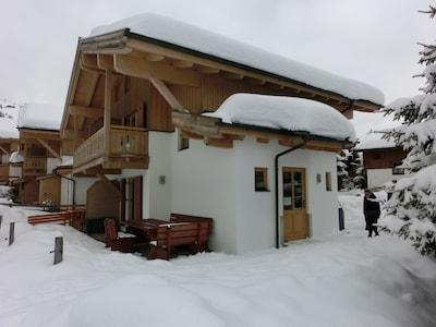 Koenigsleiten 2000 Ski Lift, Wald im Pinzgau, Salzburg State, Austria