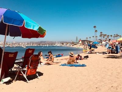 OUR BEACH AT MARINA PARK