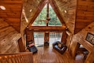 Open Floor Plan With Views From The Loft!