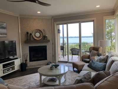 lovely living room with million dollar view
