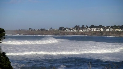 Winter Only Waves, No view in Mendocino is better