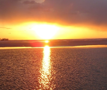 Sunset over Oneida Lake
