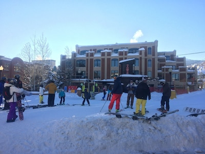 Ski out from Town Lift.