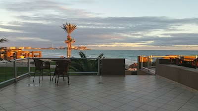 The calm after tropical storm Rosa from the patio. Oct. 2018