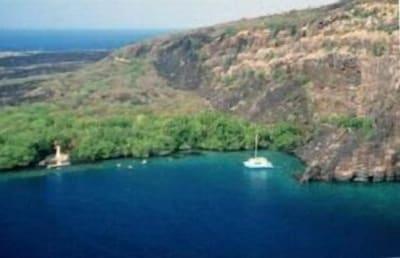 The beautiful Kealakekua Bay