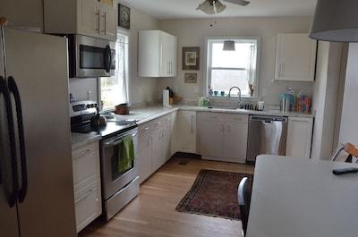 The James kitchen.