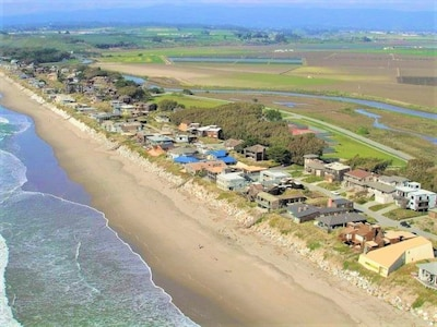 Pajaro Dunes is three rows of homes right on the dunes!  House 15 is front row!
