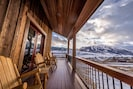 Enjoy the view from the amazing wrap around deck!