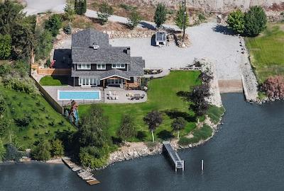 Sunken Acres Estate aerial view