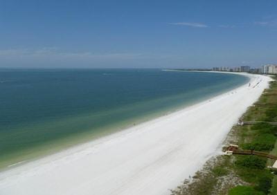 Marco Beach just steps away!