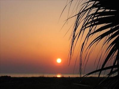 Sunrise from the condo
