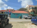 Street view of Buddy Dive center next door from Club Nautico.