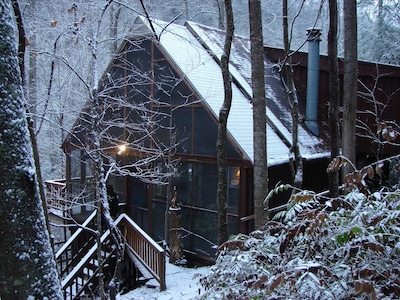 Winter on the Laurel
