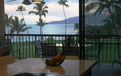 The views from inside our condo are just as good as outside.