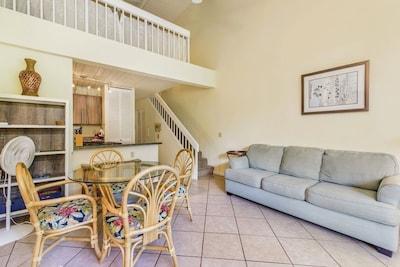 Loft style two bedroom condo