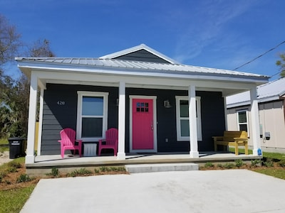 Newly Built Modern Cottage in Downtown Pensacola's North Hill Neighborhood.