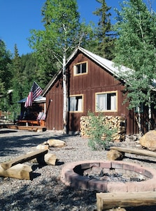 DeLoach Cabin sits on 1/5-acre of forested beauty. Ample parking for trailers.