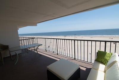 Balcony View of Beach/Boardwalk