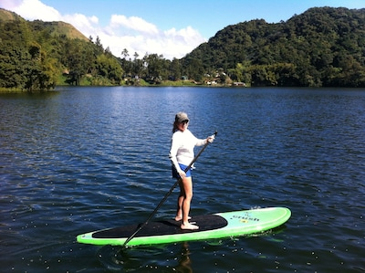 Paddle Board anyone ? (paddle board included in the rental)