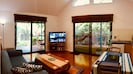 Lounge room with garden view