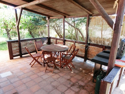 One of Relaxing Verandas with barbecue