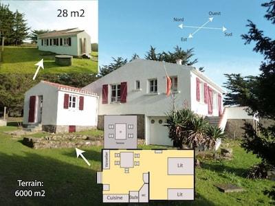 Plan de la maisonnette