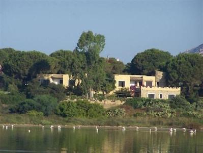 Una posizione unica, immensa spiaggia / mare di fronte, riserva naturale