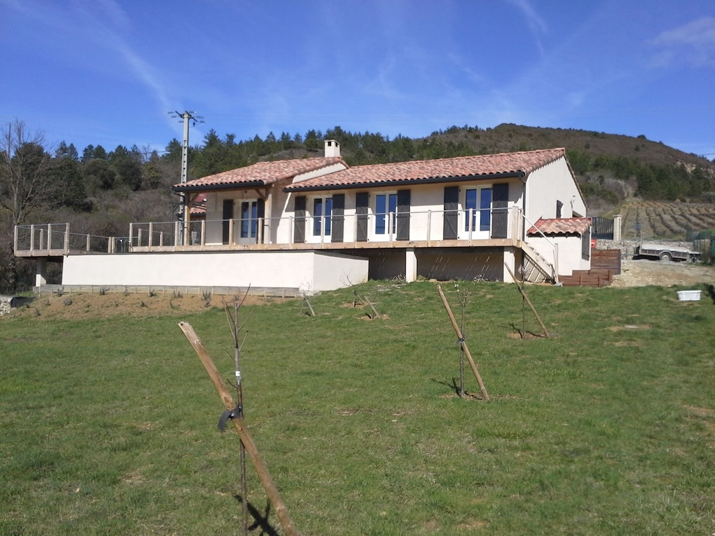 Maison Des Levriers Equipped With A Natural Pool In The Heart Of Cathar Region Luc Sur Aude