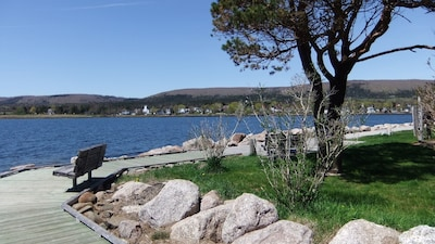 Wilf's Place is just steps from the Annapolis River Boardwalk