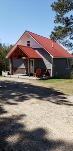 Front of Chalet - This is a smoke free - pet free enviroment.