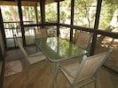 Screened Porch for Casual Dining
