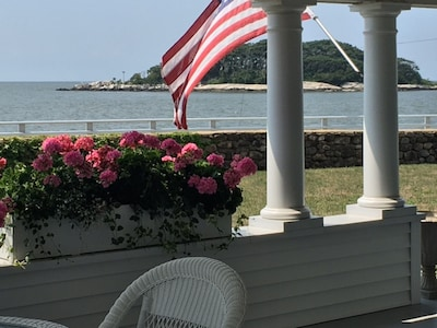 View of tuxis Island from Porch