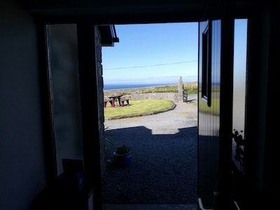 Ocean view from the front door