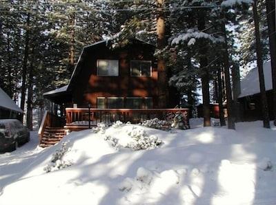 Our Cozy Mountain Cabin Winter