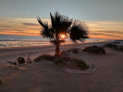 Sunset on Playa Encanto
