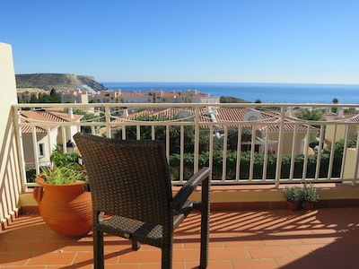 You can spend all day here enjoying views of Black Rock and the super sea views